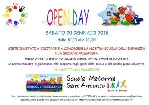 locandina open day_2018
